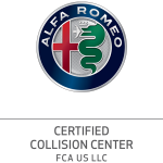 ALFA ROMEO CERTIFIED COLLISION REPAIR CENTER